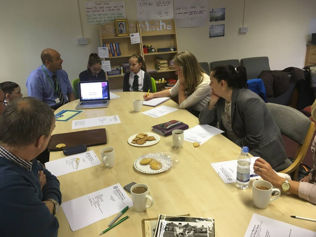 Curriculum Governors Meeting – 16.11.16