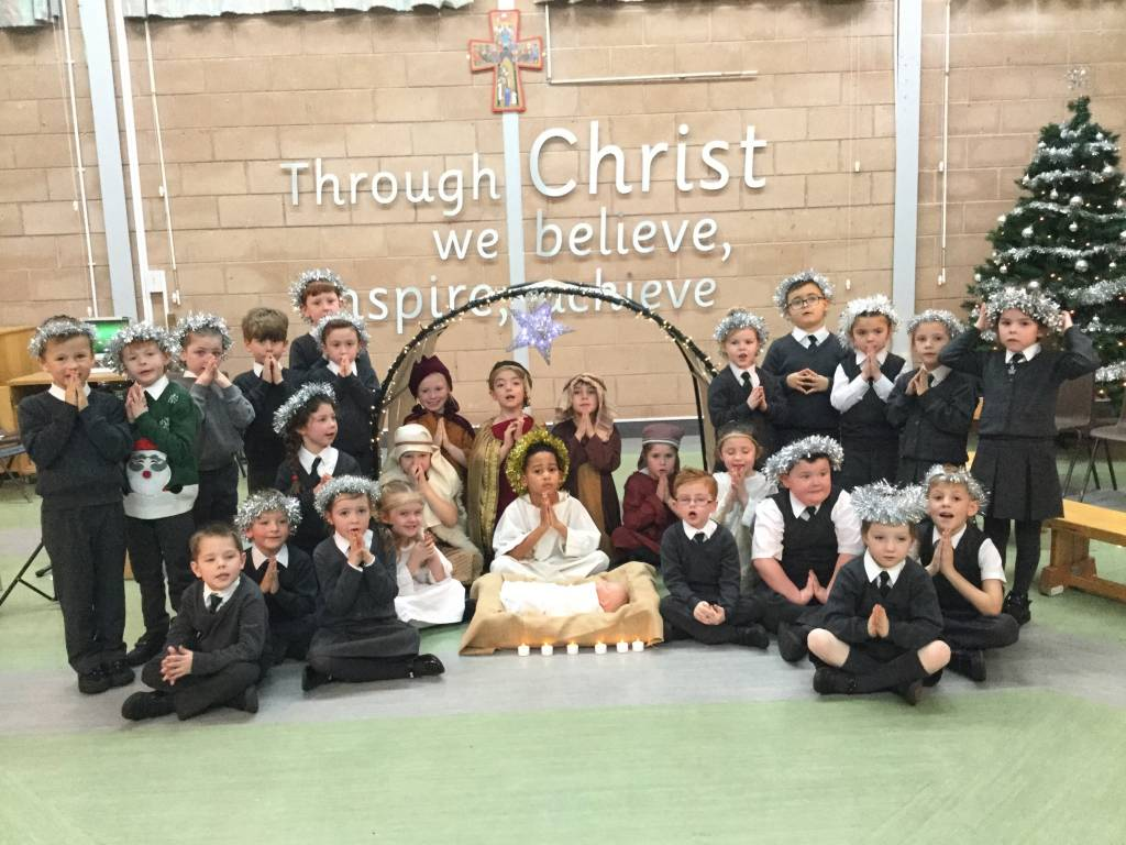 Year 3 Stay and Pray and Year 1 Christmas assembly