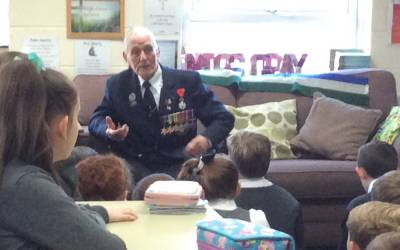 WW2 Veteran Visits Year 6