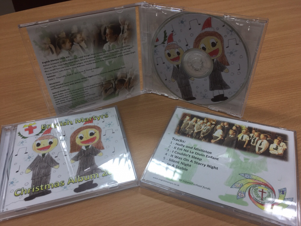 Christmas CDs on sale now!