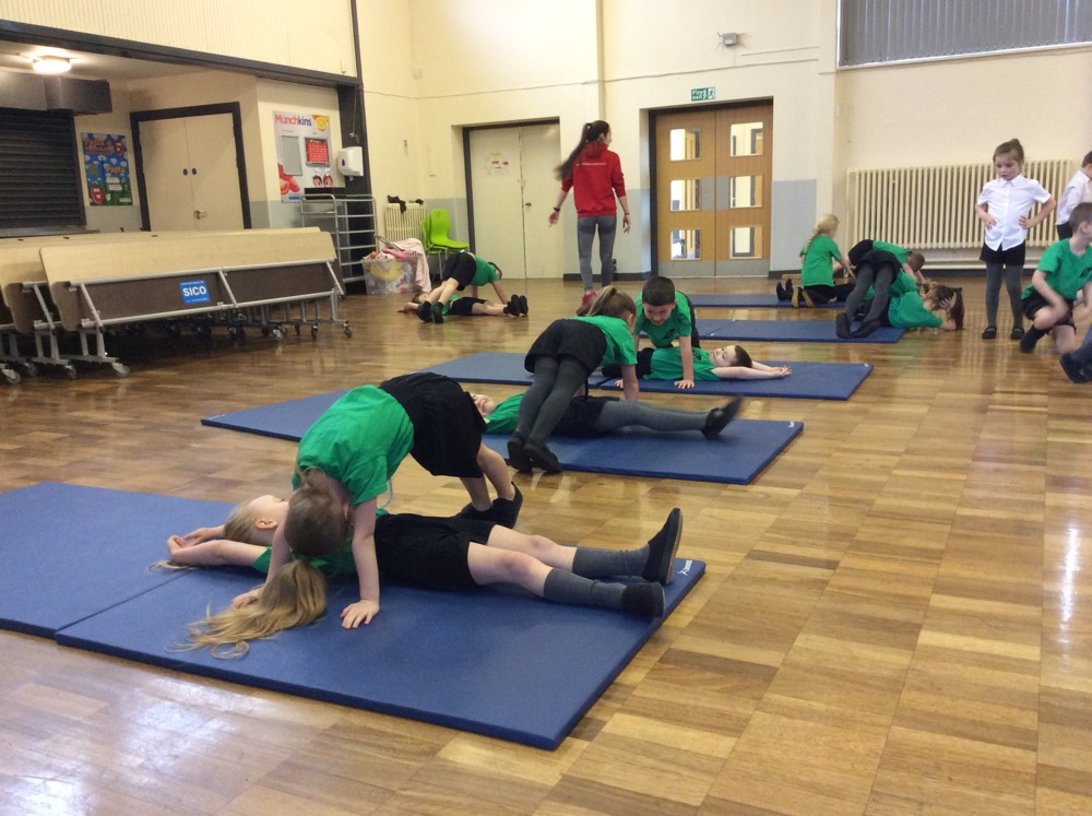 Gymnastics in year one A