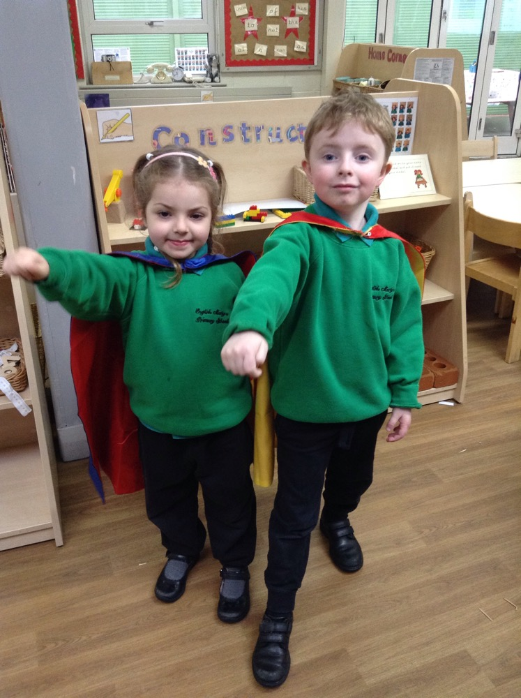 More super sentence writers in Reception!