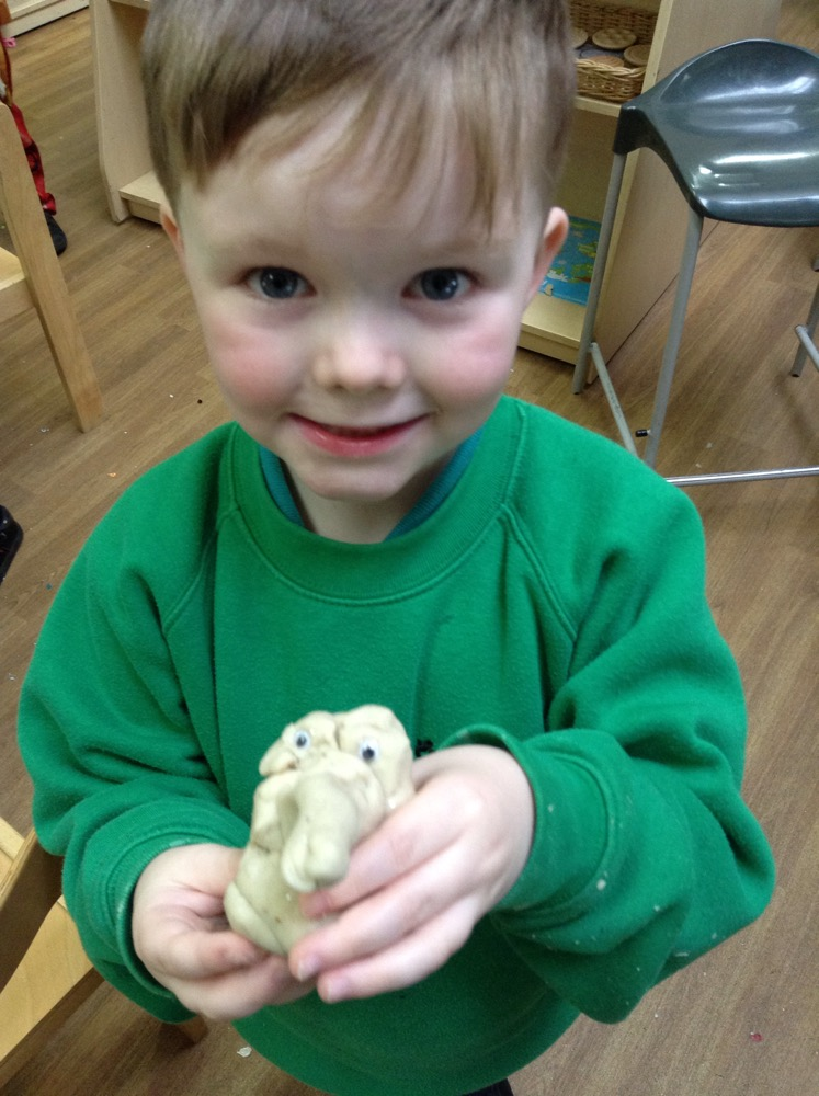 A lovely model made today in Reception!