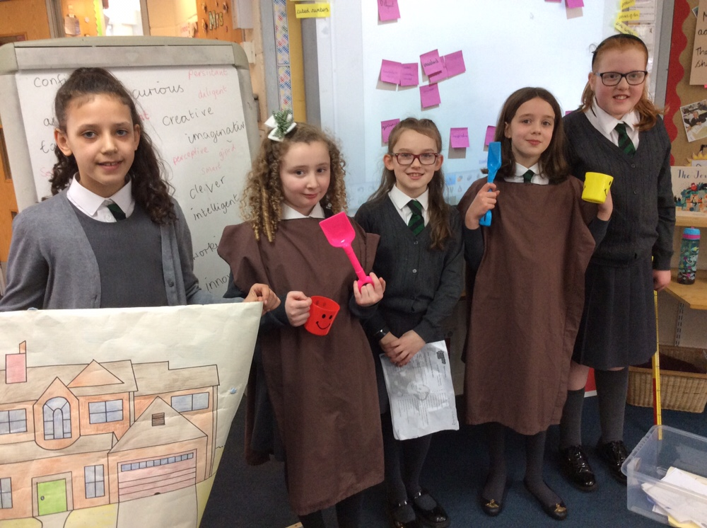Year 5 Worship Warriors lead us in Collective Worship
