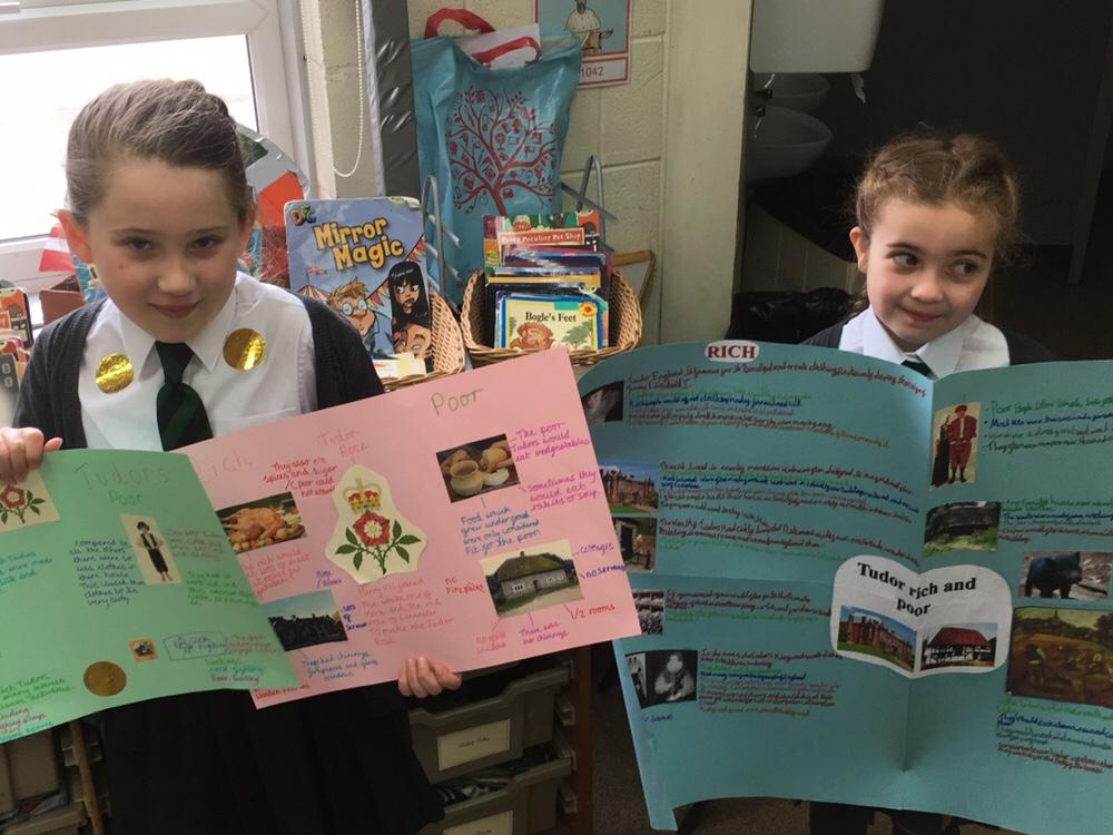 Wonderful Tudor Home Learning!