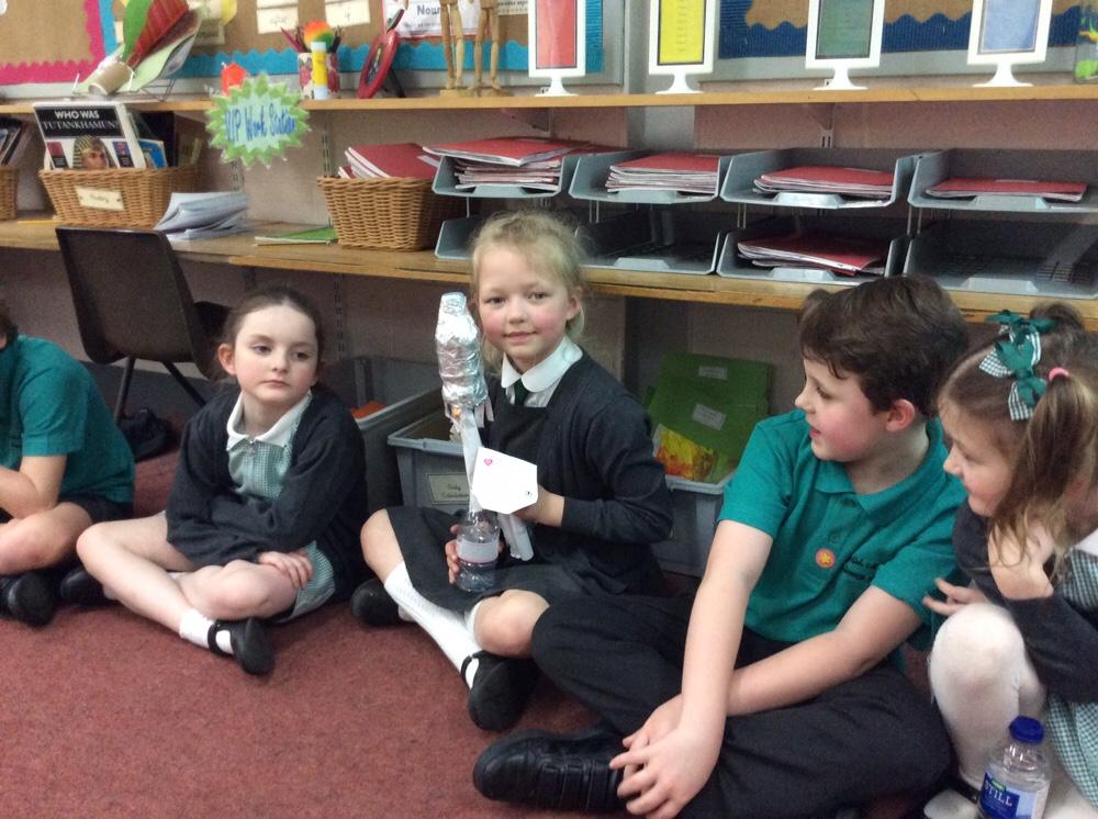 A rocket ship
