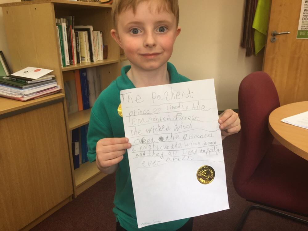 Independent writing in Reception