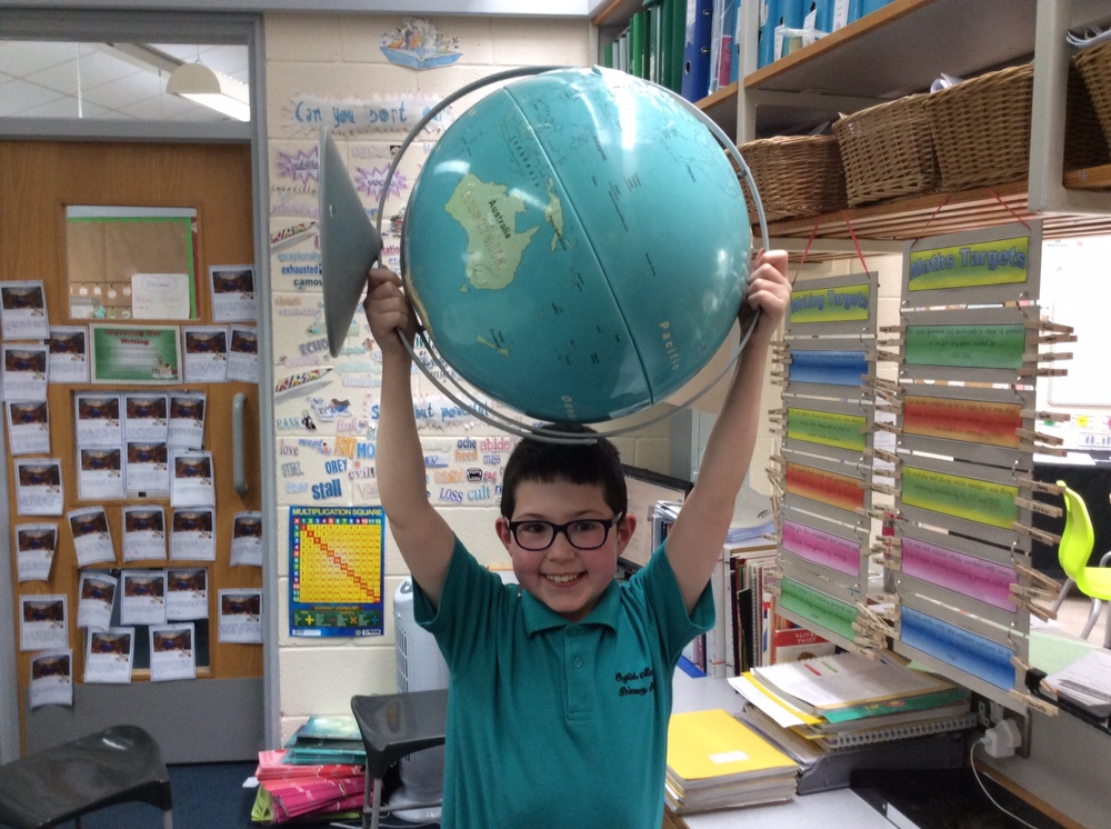 Our very own Atlas!
