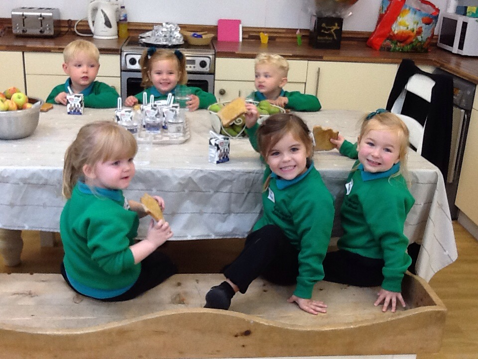Our First Day In Nursery