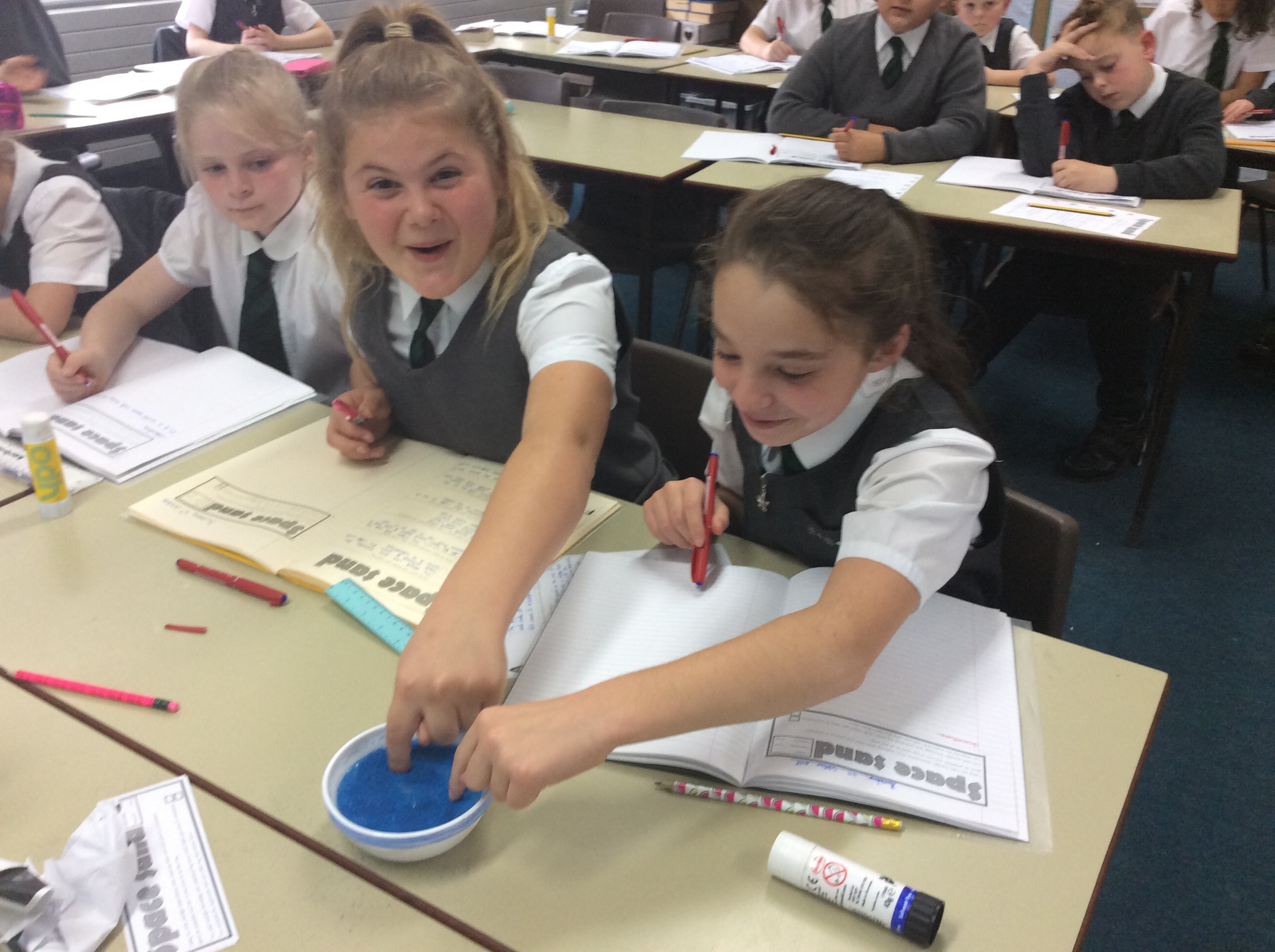 Space Sand in Y6