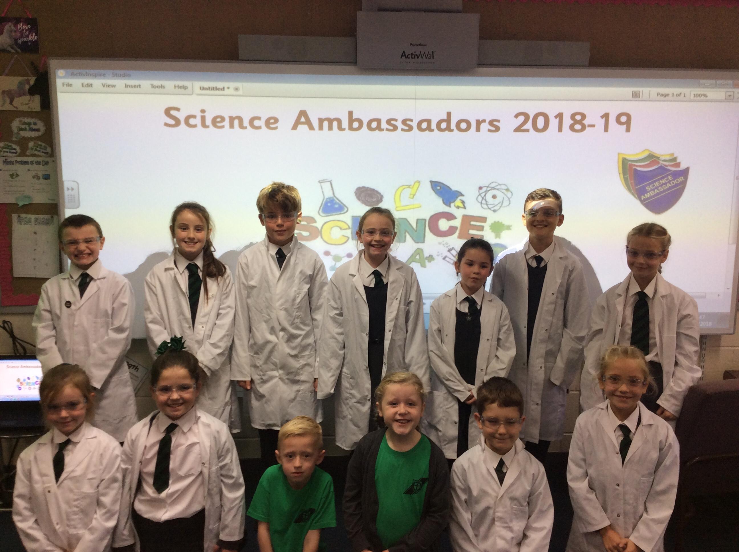 Science Ambassadors 2018-19