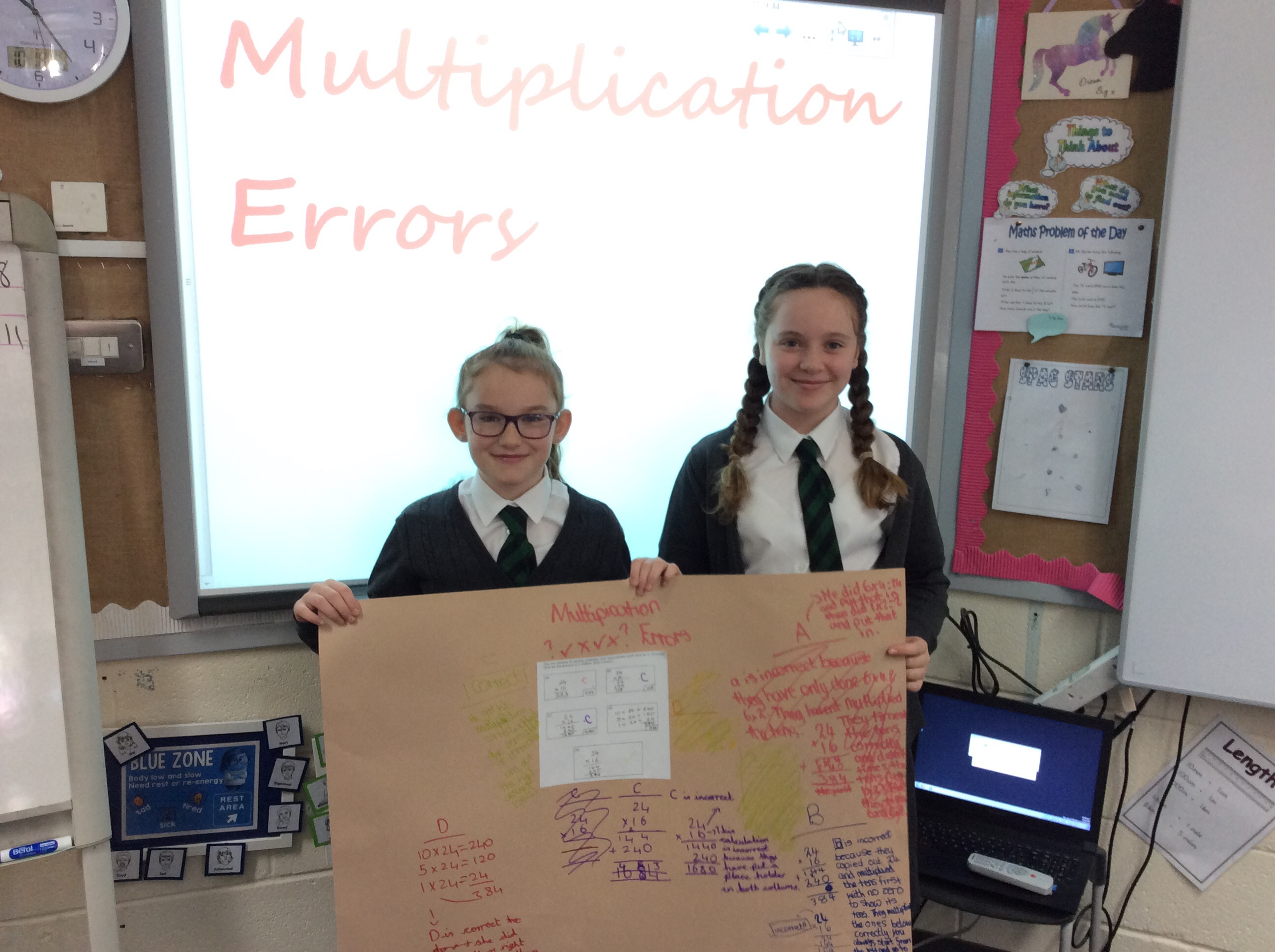 Unpicking Errors in Year 6