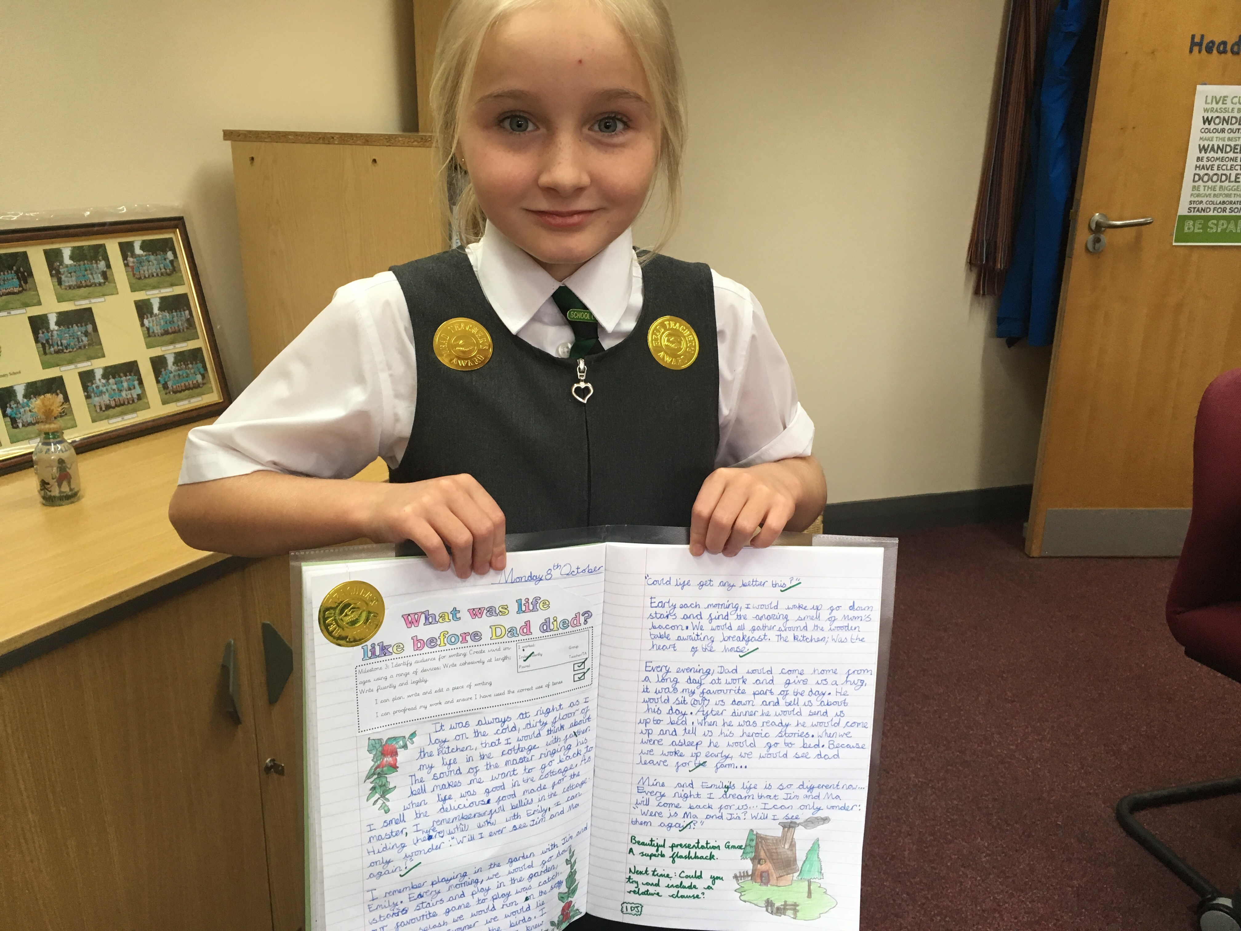 Wonderful writing in Y5!