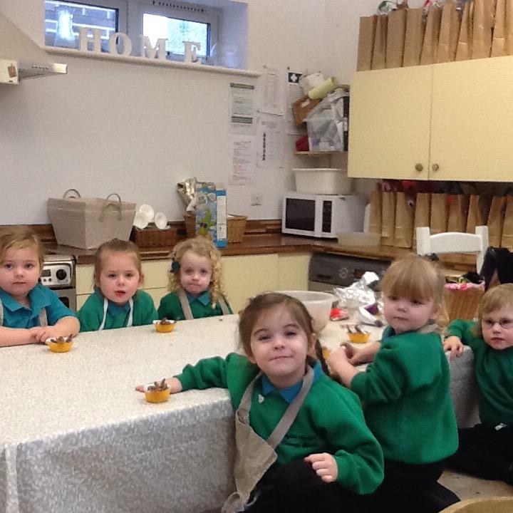 Nursery Rudolph Cakes