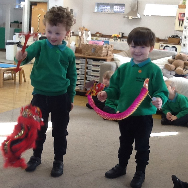 Dragons in Nursery