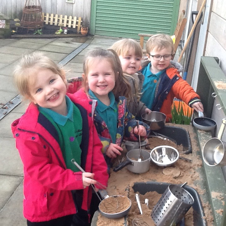 Nursery Mud Kitchen