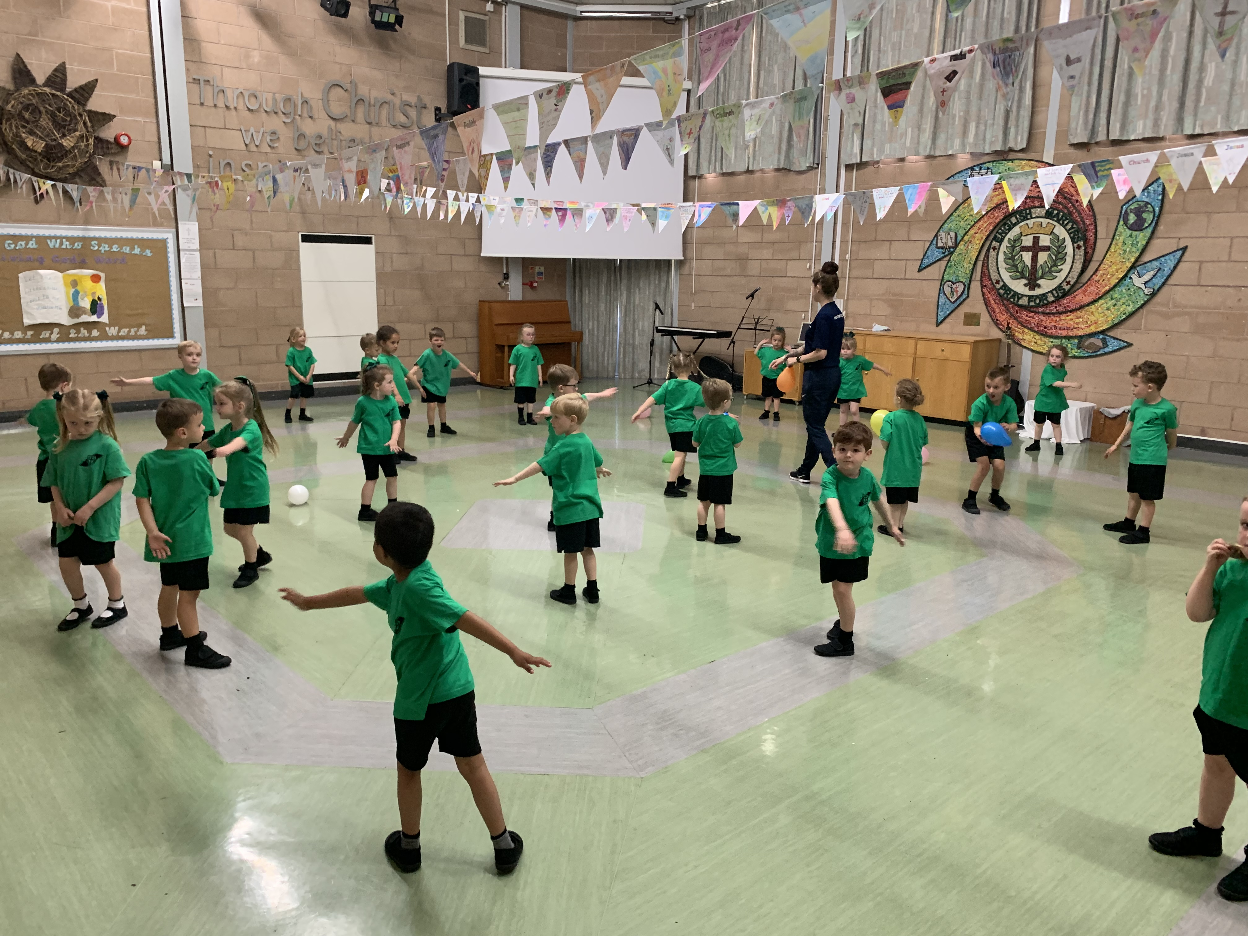 Reception love Keeping Active!