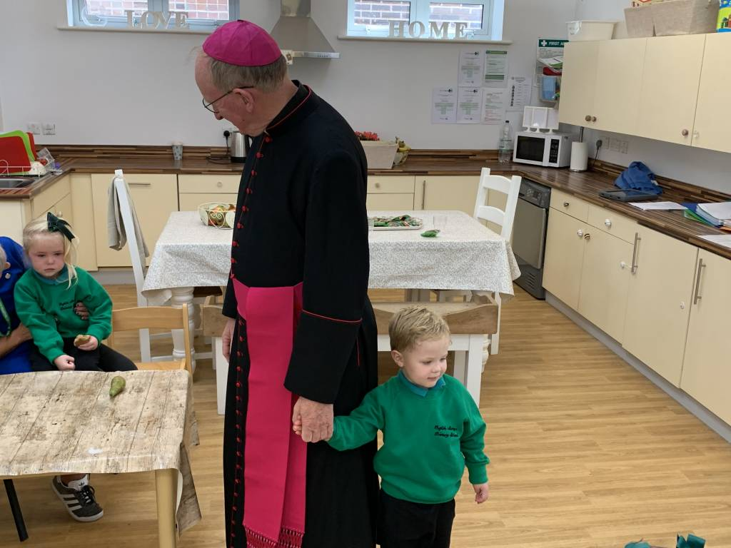 Bishop Tom Visits!