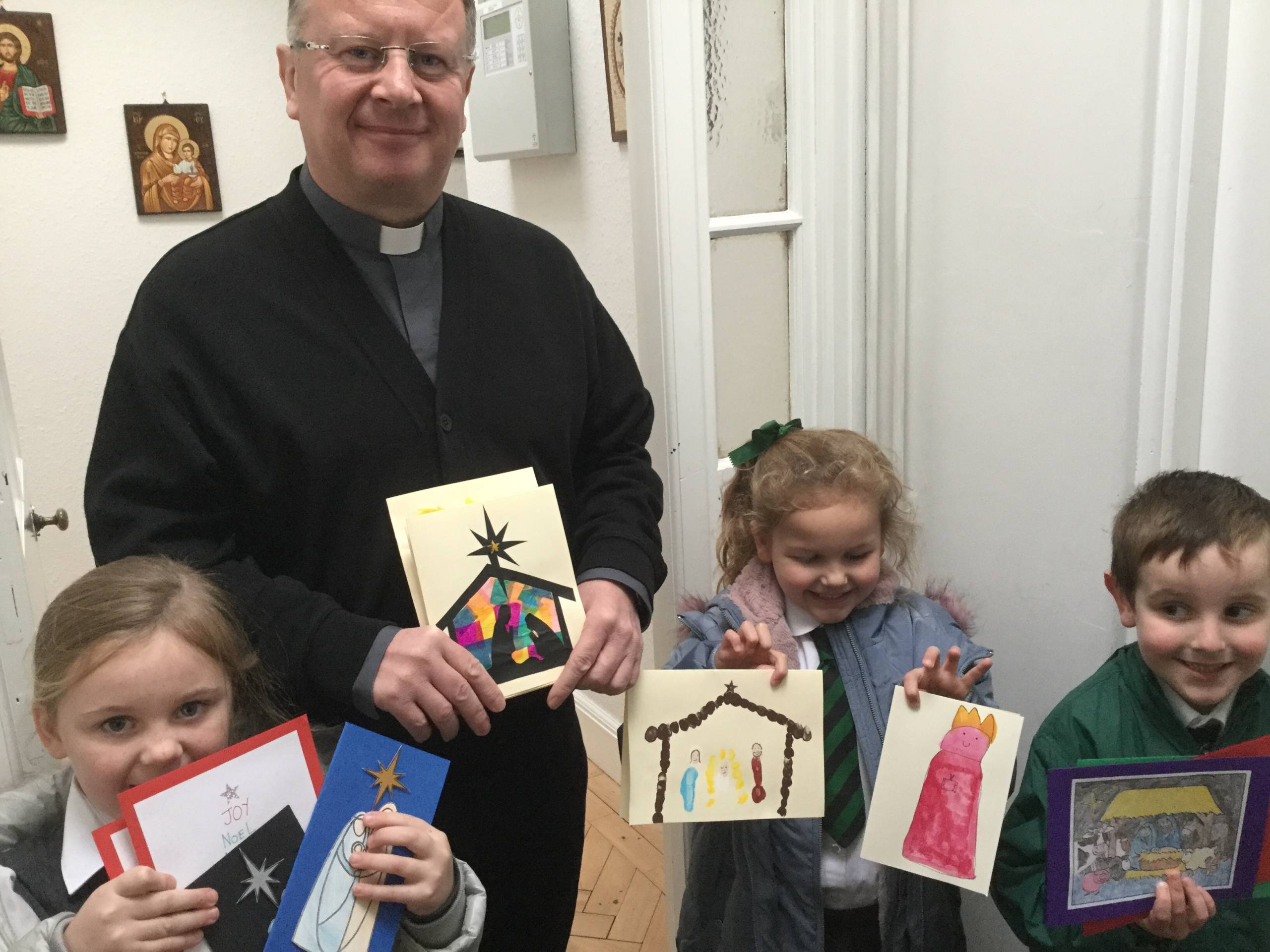 Christmas cards for the Holy Land